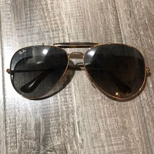 Ray-Ban outdoorsman aviators tortoiseshell